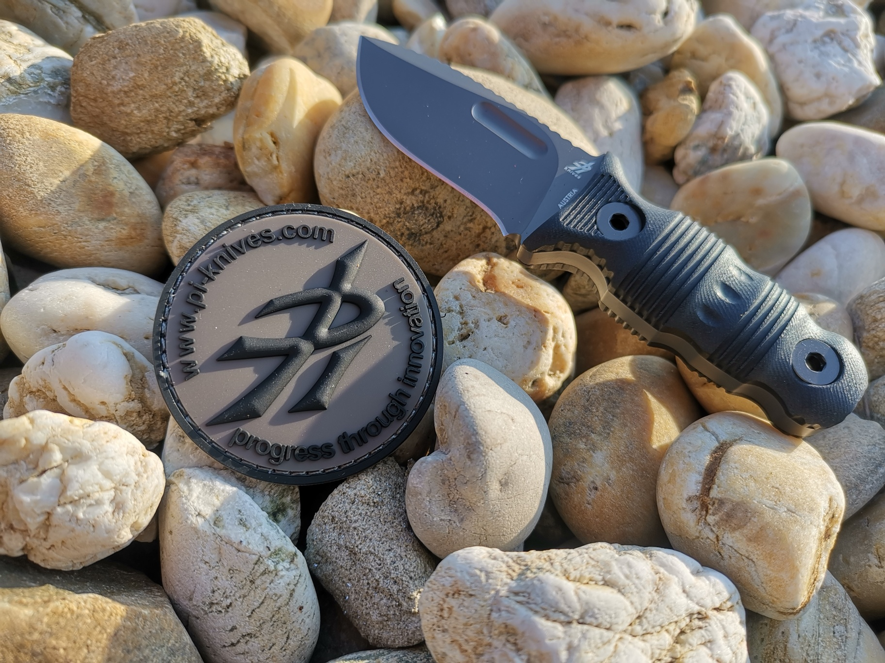 PiKnives Pocket Panther olive