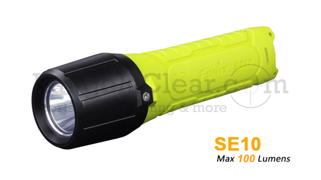 Fenix SE10 ATEX / IECEx yellow/black