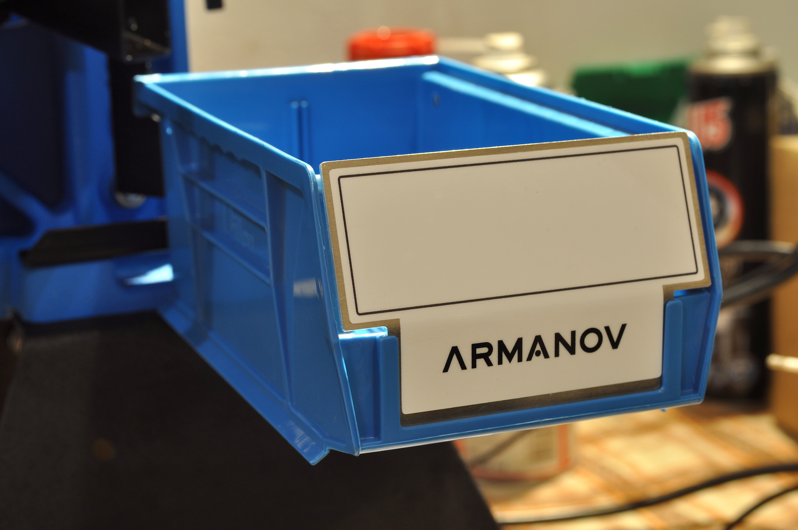 Armanov Case Bin Stopper for Dillon Case