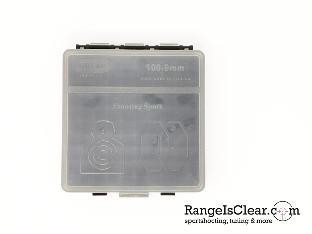Odeon Ammo box 9mm 100rds - transparent grey