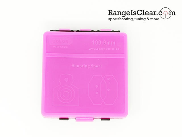 Odeon Ammo box 9mm 100rds - pink