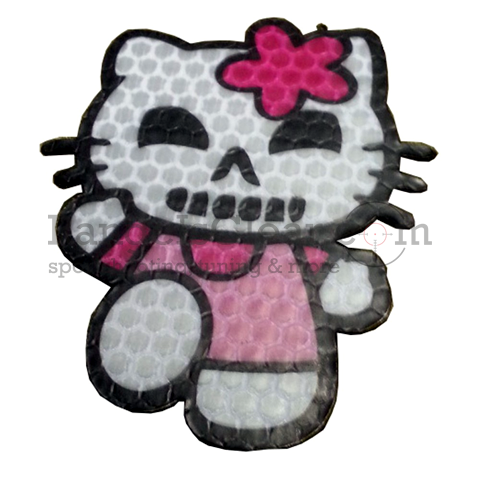 JTG Patch Hell Kitty Reflective
