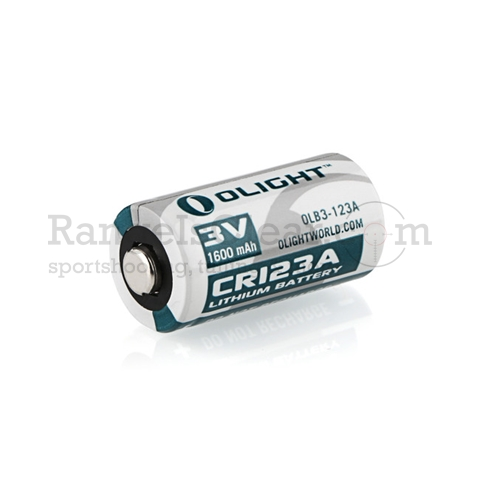 Olight Battery CR123 Lithium 1600mAh