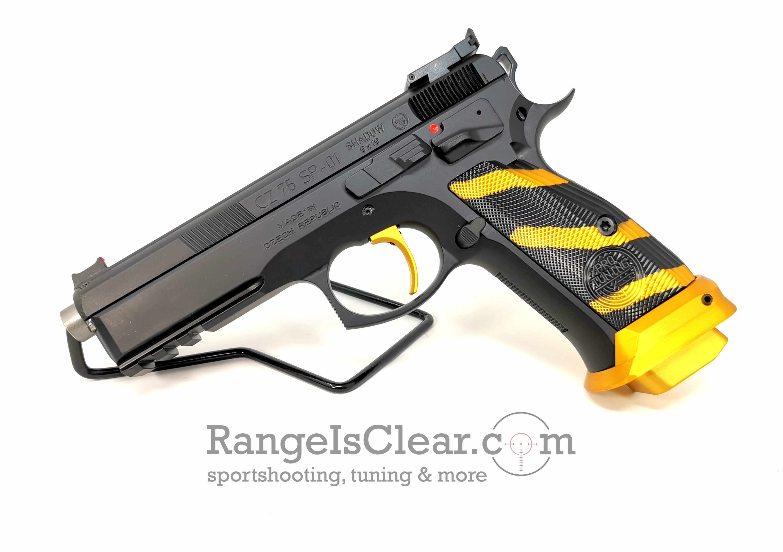 CZ 75 SP01 Shadow Pro Tuning Gold 9x19