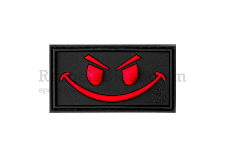 JTG Evil Smile Rubber Patch Blackmedic