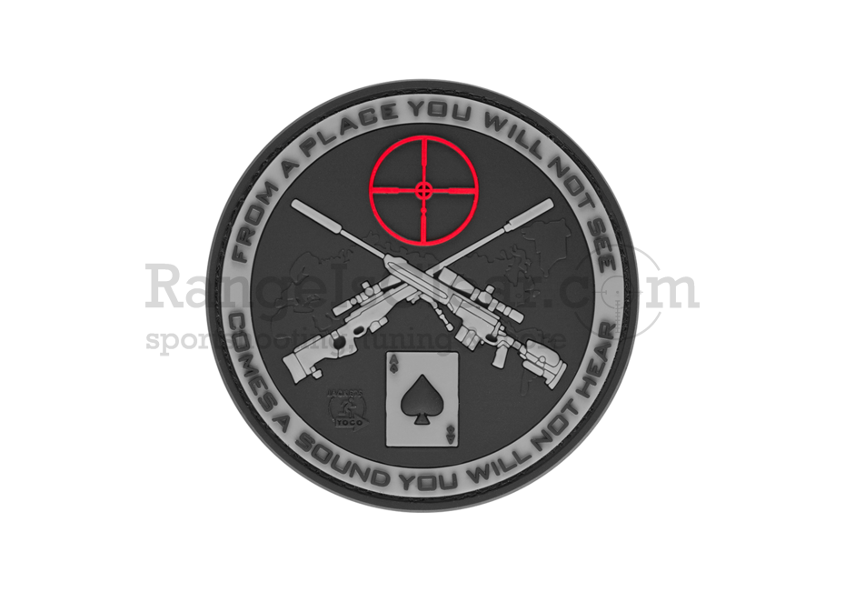 JTG Sniper Rubber Patch SWAT