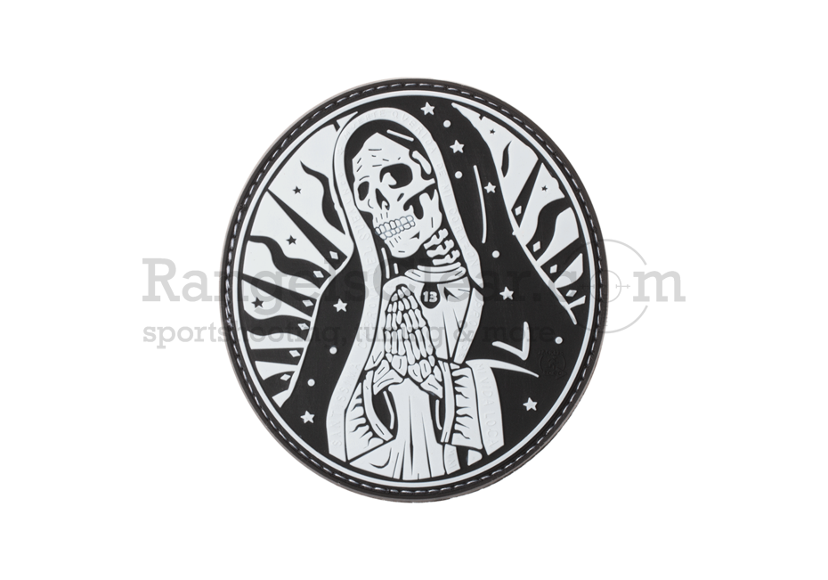 JTG Santa Muerte Rubber Patch SWAT