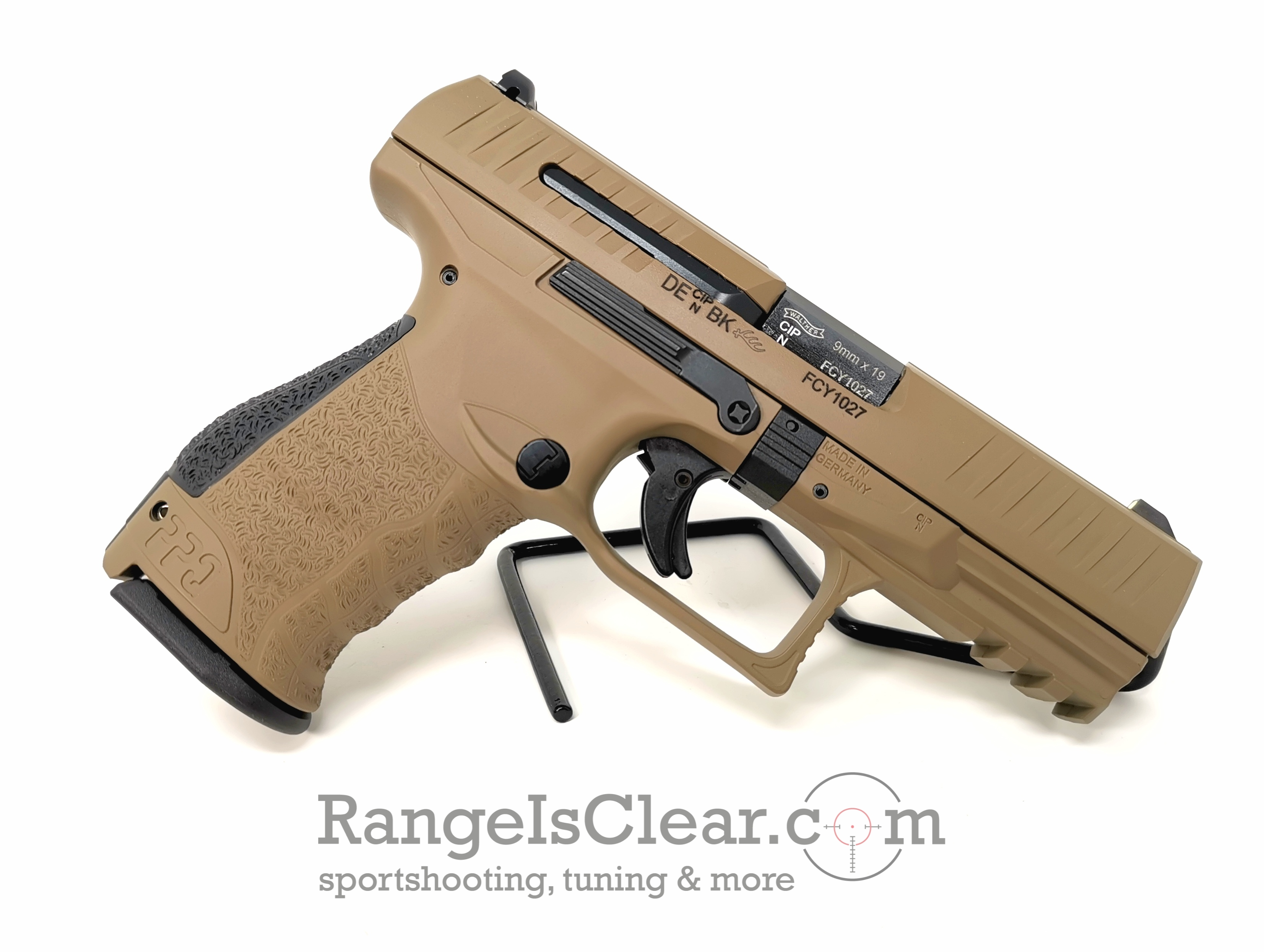 Walther PPQ M2 9x19 FDE