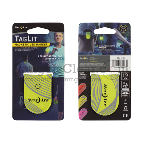 NiteIze TagLit Magnetic LED Marker Yellow/Green
