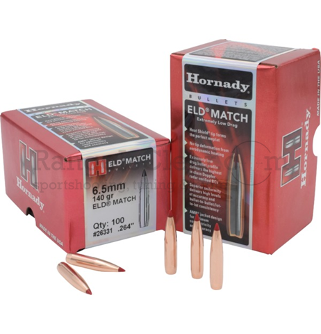 Hornady Bullets ELD Match 6,5mm .264 140 grs