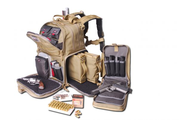 G.P.S. Tactical Range Backpack - khaki