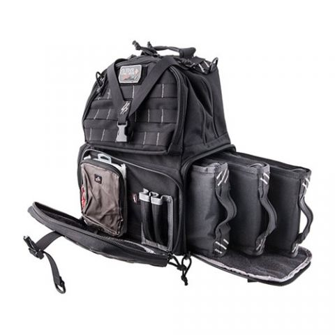 G.P.S. Tactical Range Backpack - schwarz