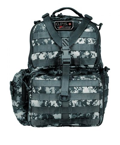 G.P.S. Tactical Range Backpack - grey camo