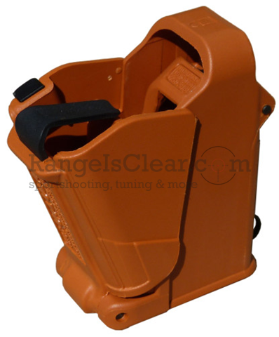 Uplula Universal Mag Loader Assist ORANGE BROWN