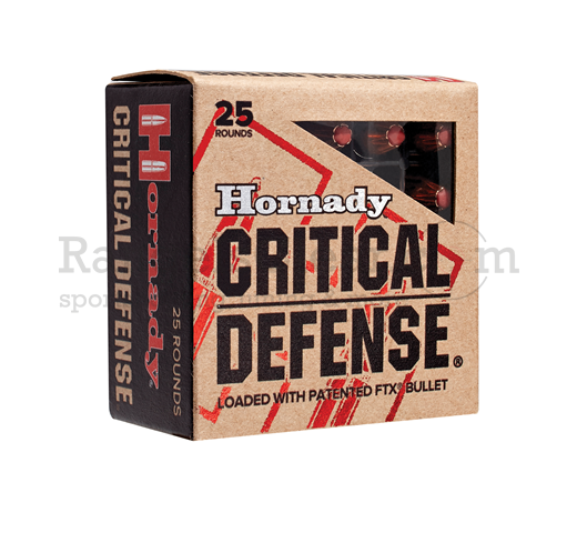 Hornady Critical Defense .380 Auto 90 grs FTX