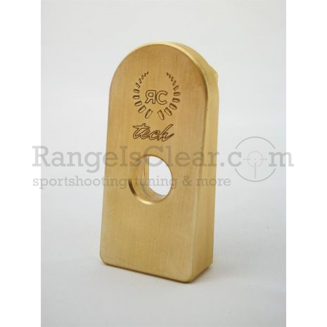 RC Tech 1911 Magazin Base Pads BRASS