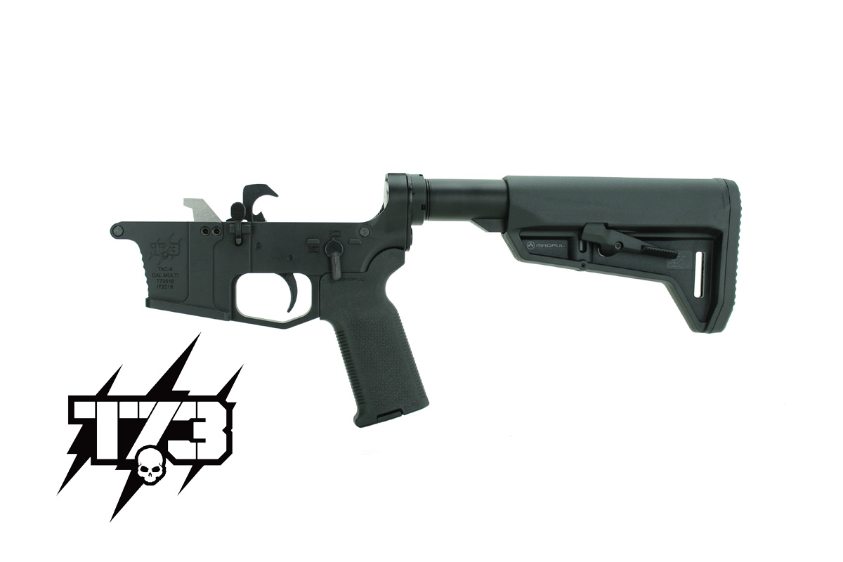 T73 TAC-9 AR-15 9mm Lower komplett