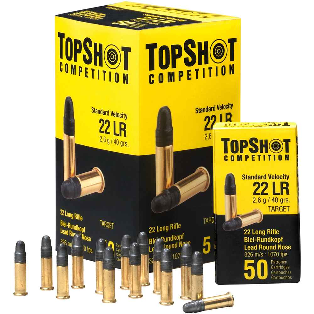 TopShot Competition .22lr Standard Velocity