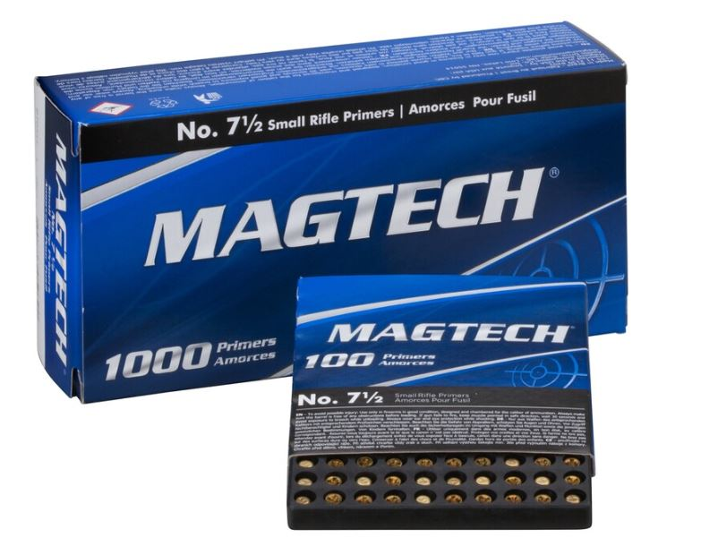 Magtech Small Rifle Primer No. 7 1/2