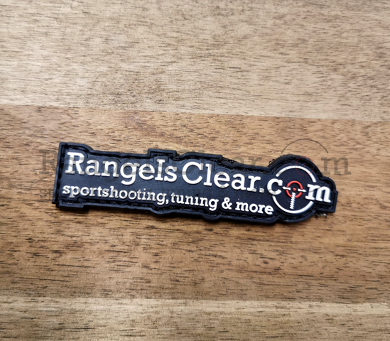 RangeIsClear Patch - Logo Black