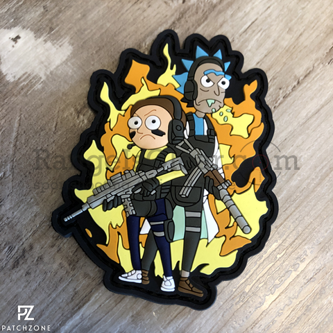 Patchzone Tactical Rick and Morty