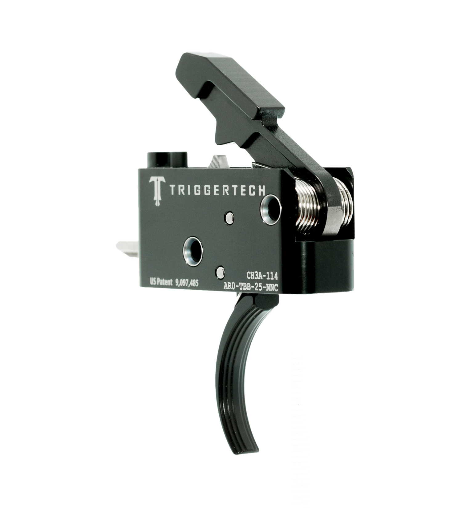 TriggerTech Adaptable AR Trigger PVD Curved