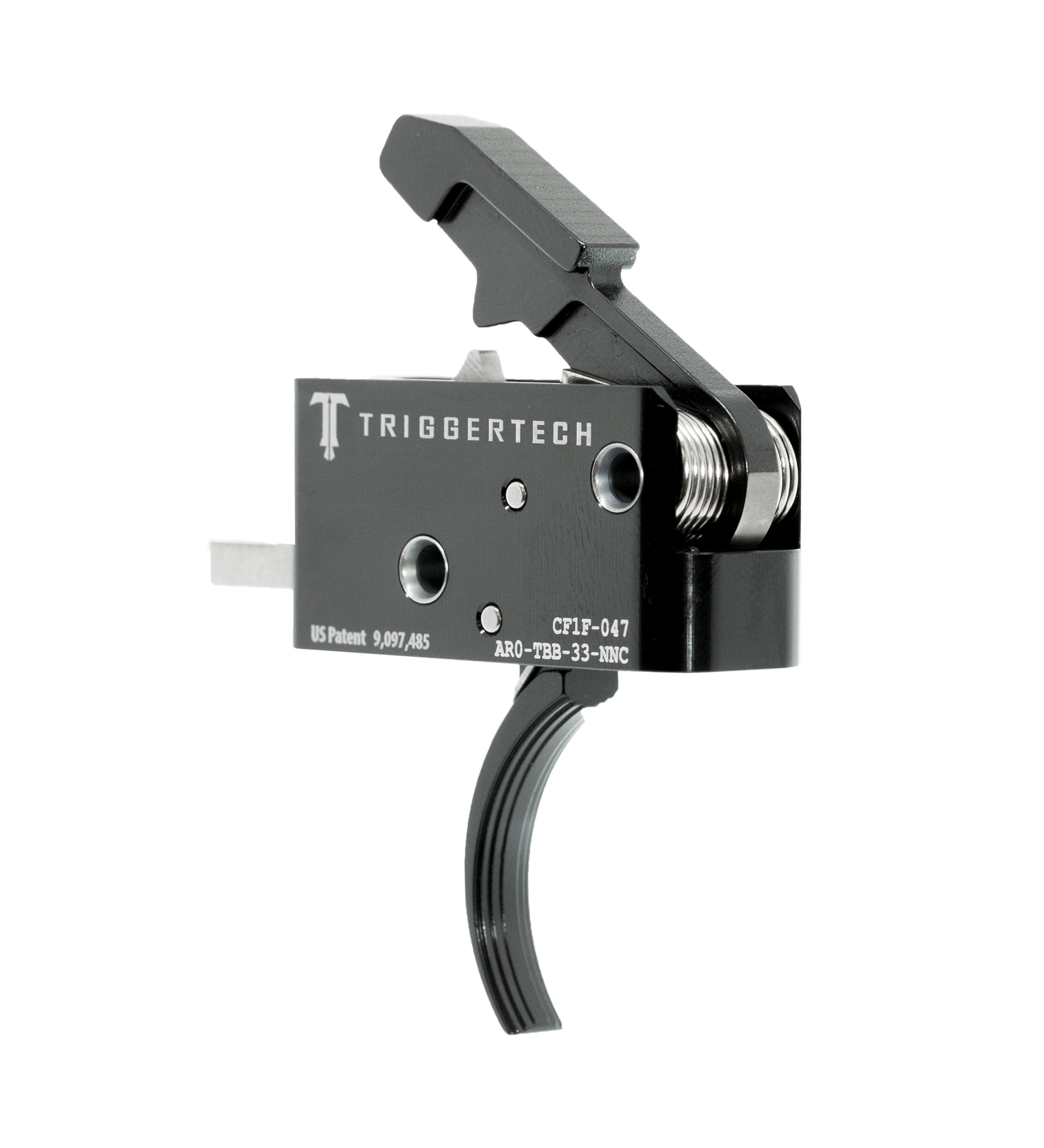 TriggerTech Competitive AR Trigger PVD Curved