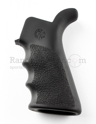 Hogue AR-15 Pistol Grip Beavertail Rubber Black