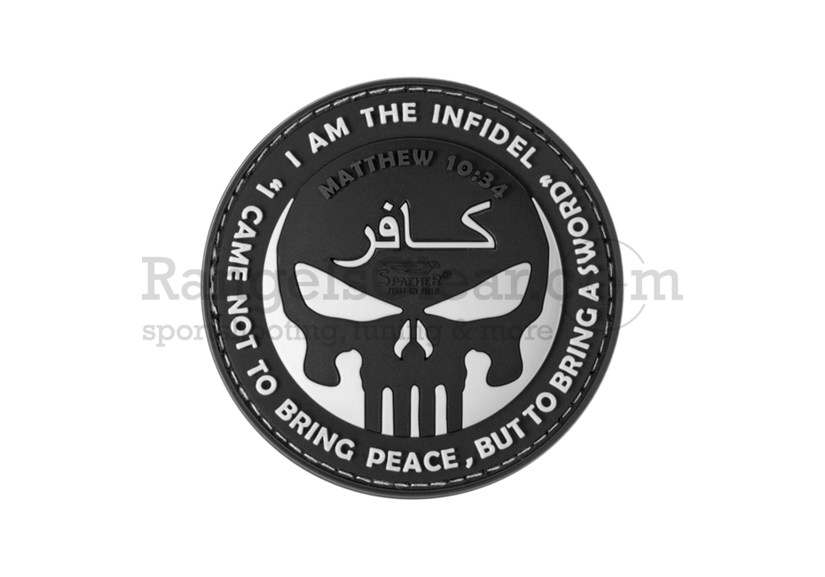 JTG The Infidel Punisher black/white