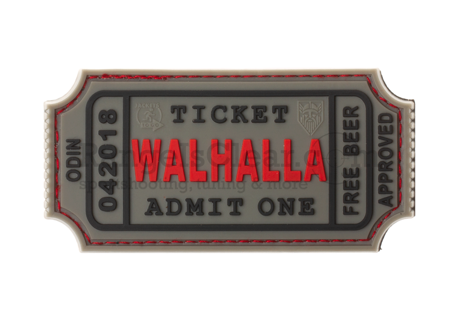JTG Large Walhalla Ticket - grey/red/black