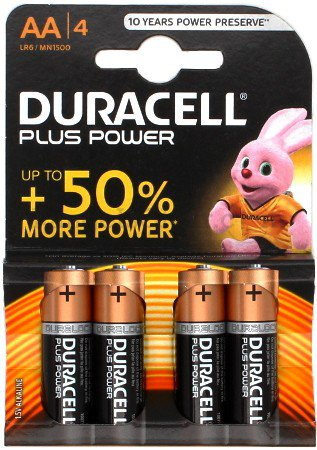 Duracell Plus AA - 4 Stk.