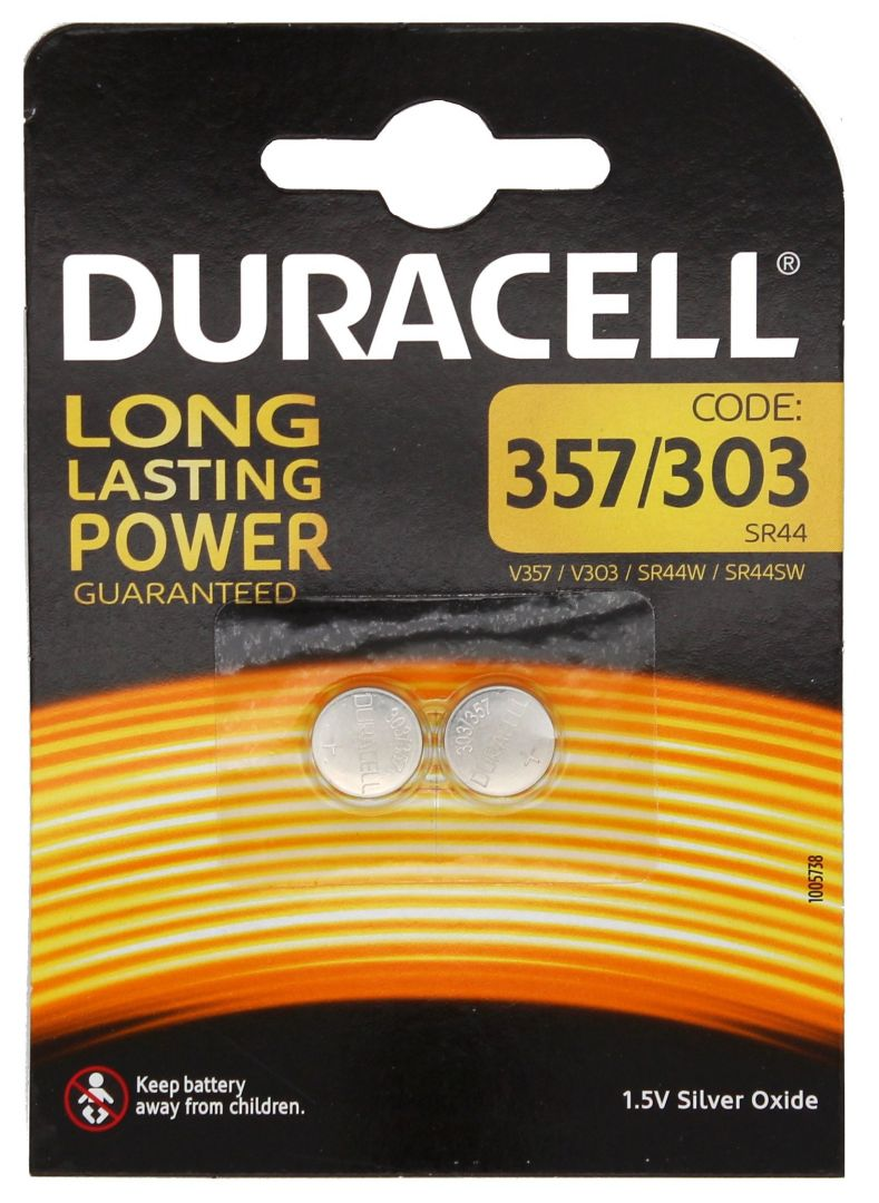 Duracell Long Lasting Power AG13/D357 - 2 Stk.