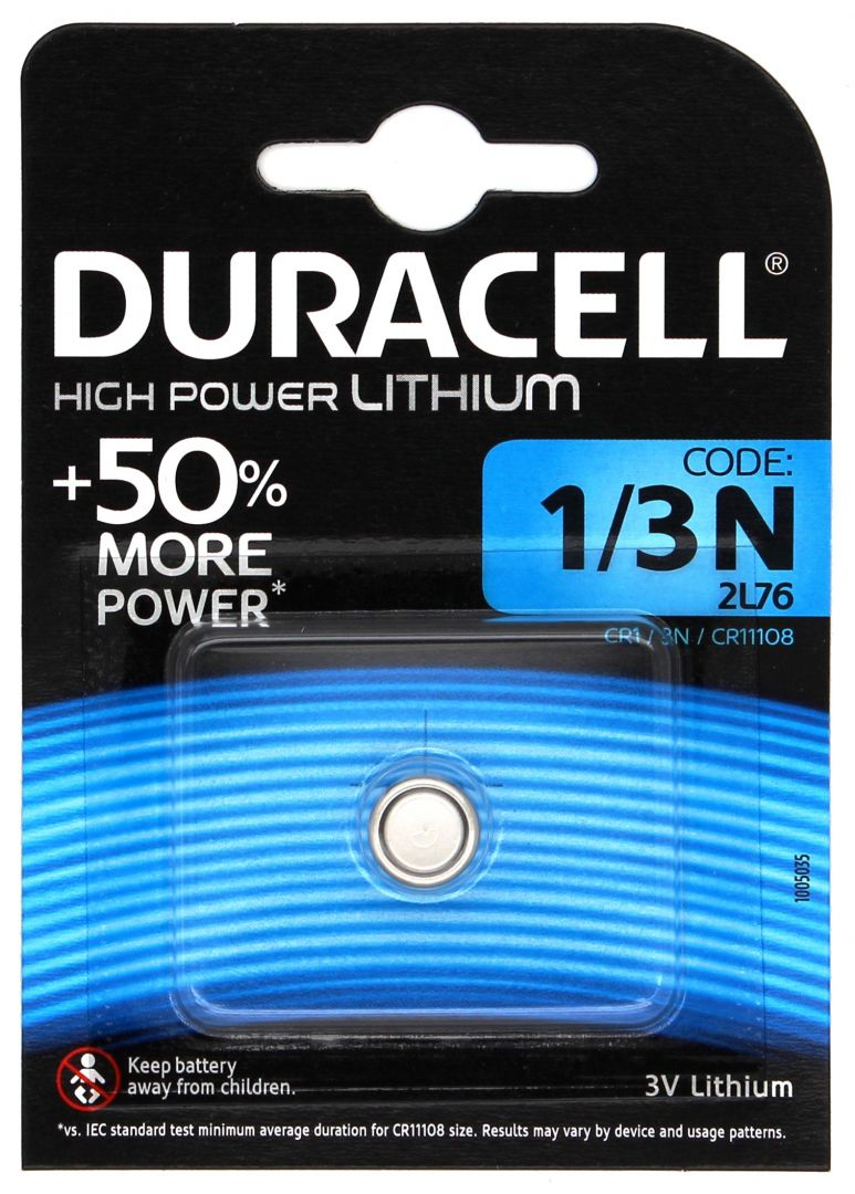 Duracell Lithium DL1/3N - 1 Stk. für Streamlight