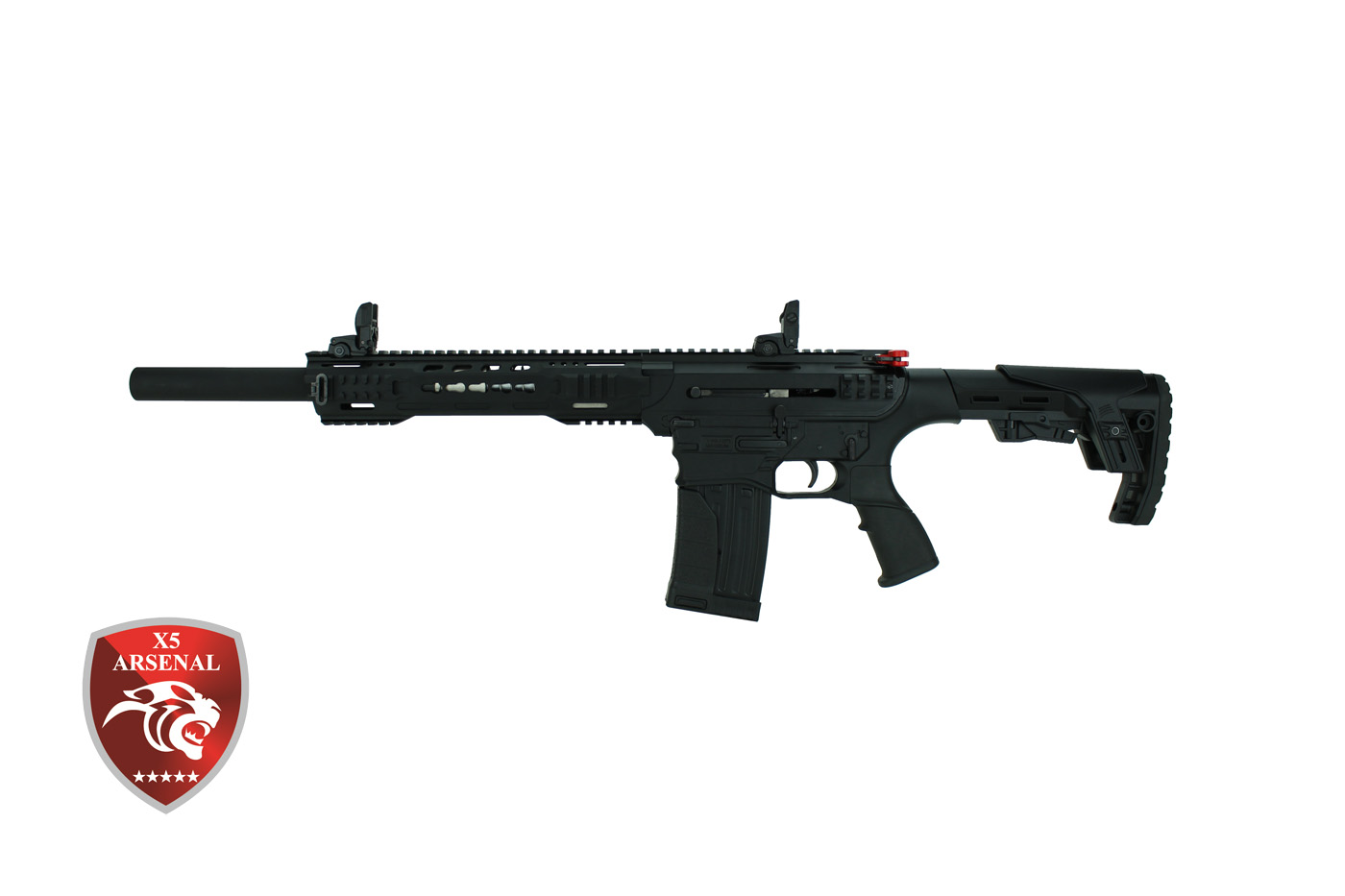 X5 Arsenal AR-12T Black 12/76