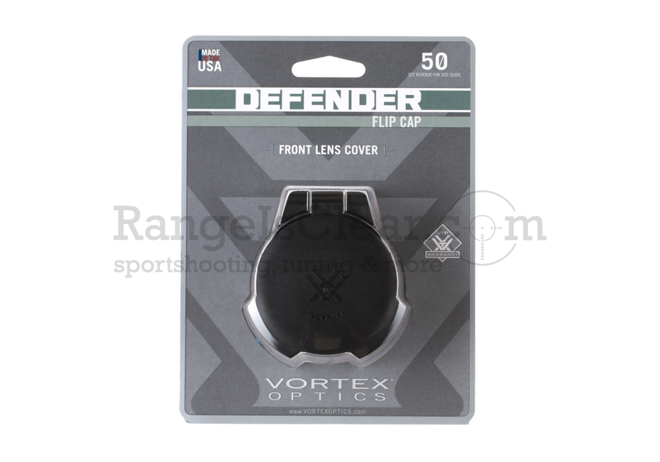 Vortex Defender Flip-Cap Objective 50mm