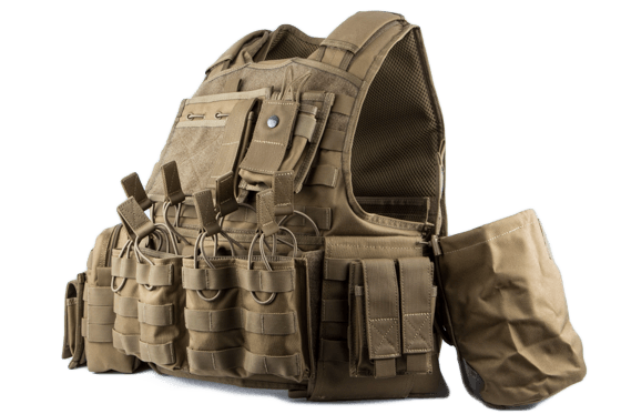 365+ Dagur Armor Carrier Vest - Coyote Brown