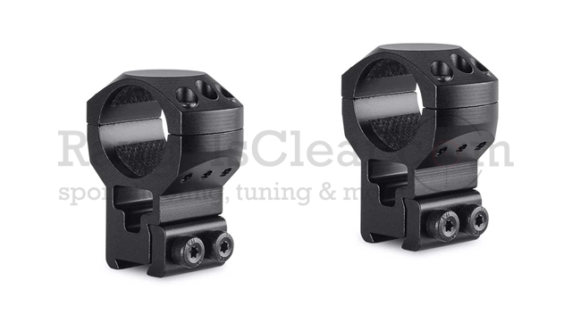 "Hawke Tactical Ring Mount 9-11mm, 1"", extra high"