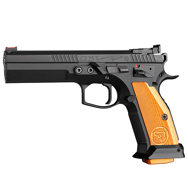 CZ 75 Tactical Sport Orange 9x19
