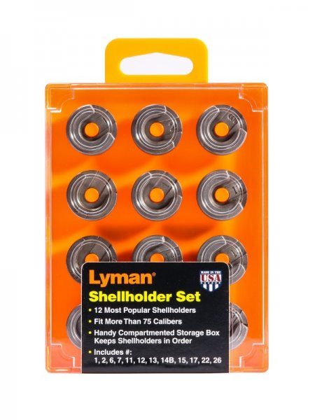 Lyman Shellholder Set 12 pieces