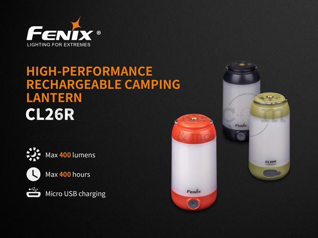 Fenix CL26R Camping Laterne green