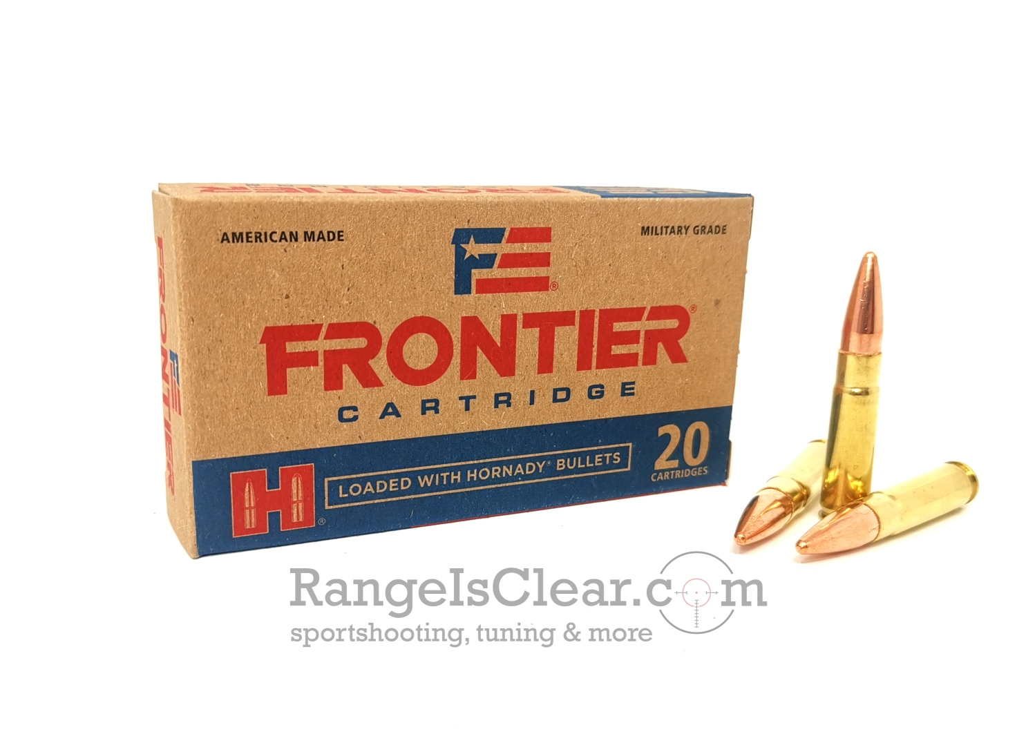 Hornady Frontier .300 Blackout 125grs FMJ - 20 rds