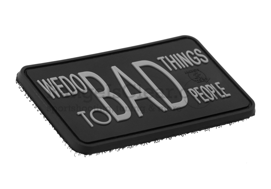JTG We Do Bad Things Insider Patch - SWAT