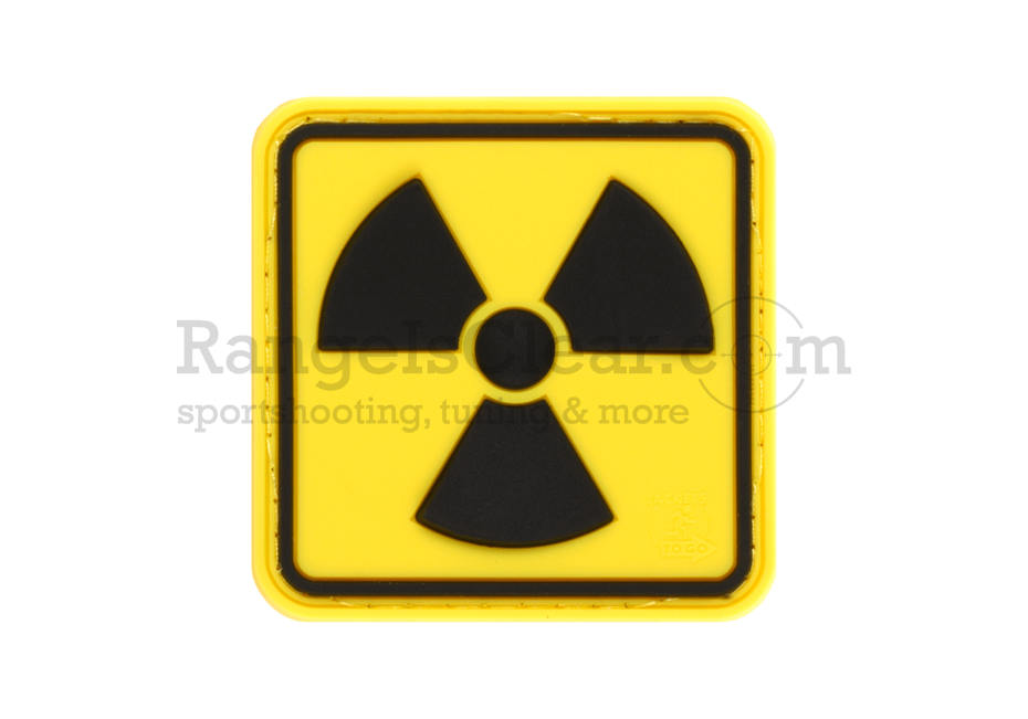 JTG Radioactive Rubber Patch - Fullcolor