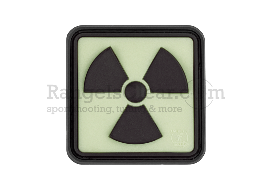 JTG Radioactive Rubber Patch - Glow in the Dark