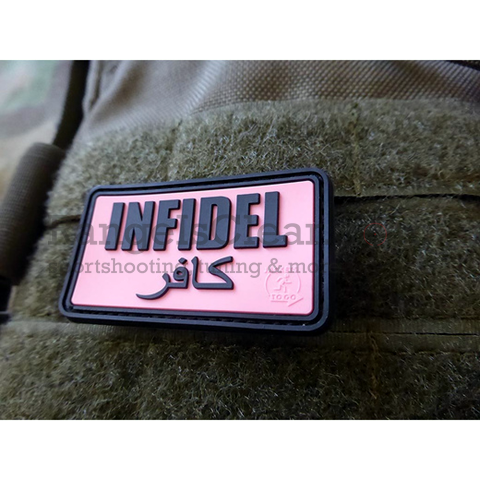 JTG Infidel Patch - pink/black
