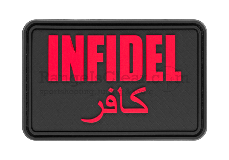 JTG Infidel Large Rubber Patch - Black Medic