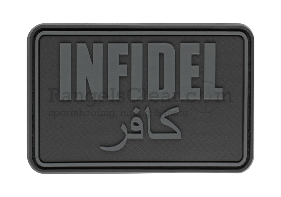 JTG Infidel Large Rubber Patch - BlackOps