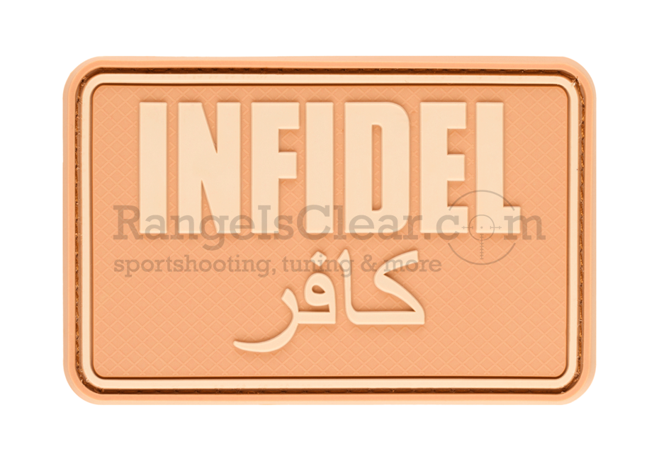 JTG Infidel Large Rubber Patch - Desert