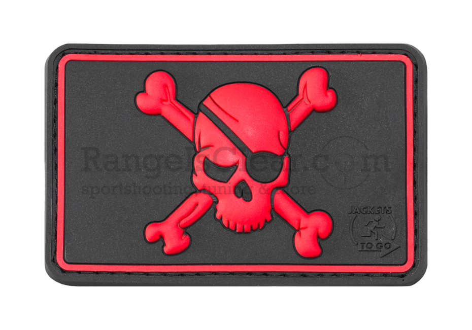 JTG Pirate Skull Patch - BlackMedic