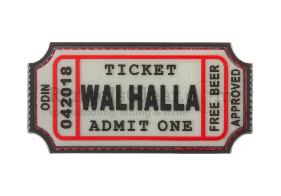 JTG Large Walhalla Ticket - Glow in the Dark